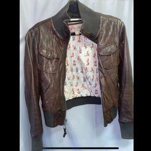 Miss Top Gun 100% Genuine Leather Jacket